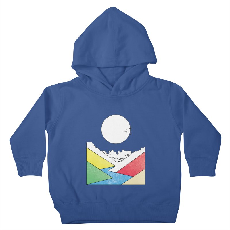 Sun & Valley Kids Toddler Pullover Hoody by towch's Artist Shop