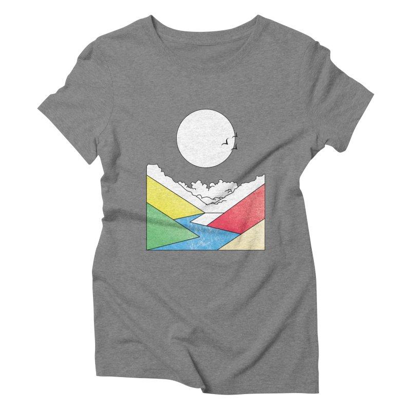 Sun & Valley Women's Triblend T-Shirt by towch's Artist Shop