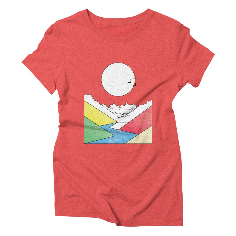Sun & Valley Women's Triblend T-Shirt by towch's Artist Shop
