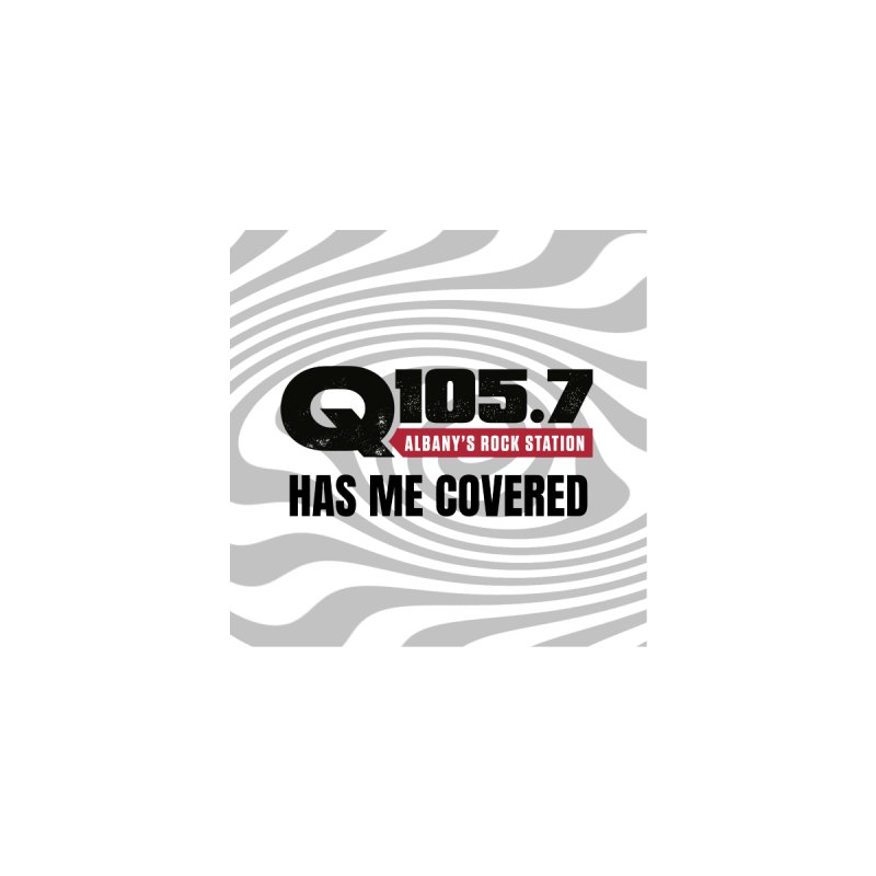Q105.7 Has Me Covered Face Mask Accessories Face Mask by Townsquare Media Albany's Artist Shop