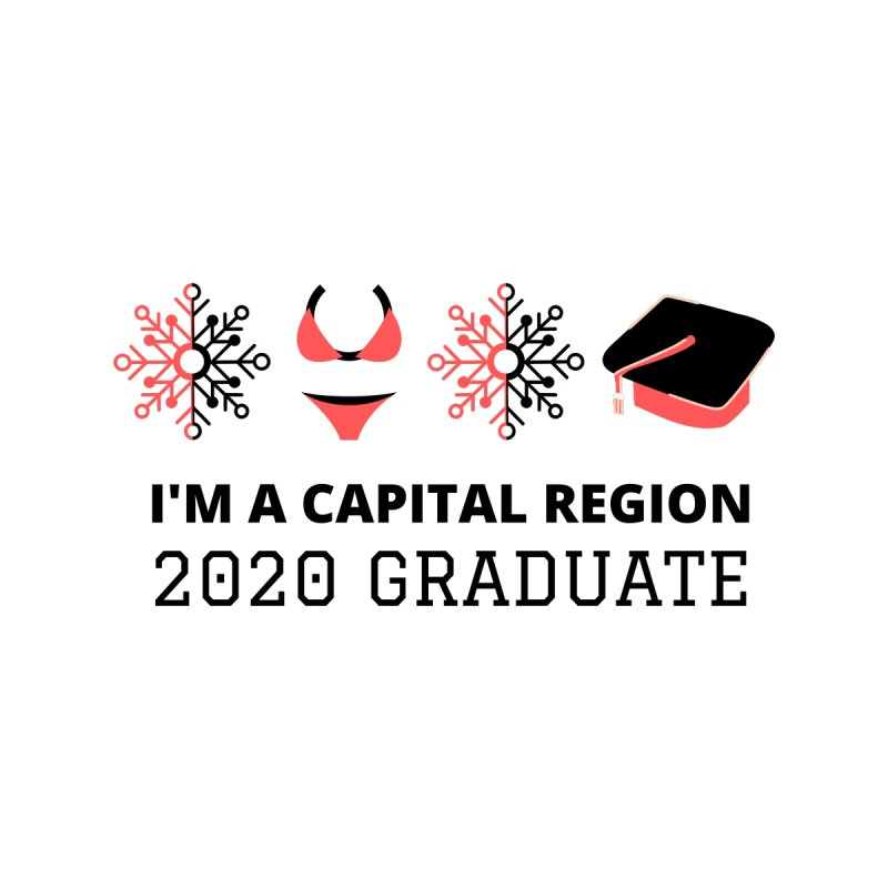2020 Capital Region Graduate Women's V-Neck by Townsquare Media Albany's Artist Shop