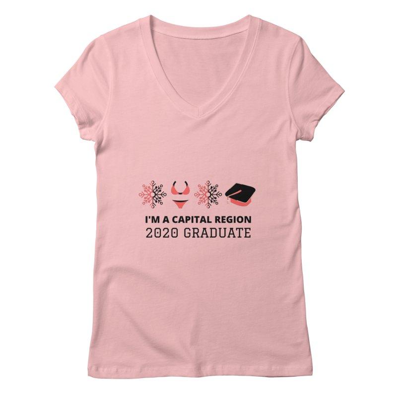 2020 Capital Region Graduate Women's V-Neck by Townsquare Media Albany's Artist Shop