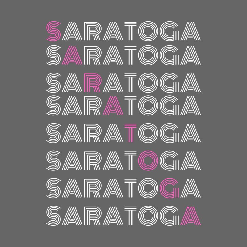 Saratoga Shirt Men's T-Shirt by Townsquare Media Albany's Artist Shop