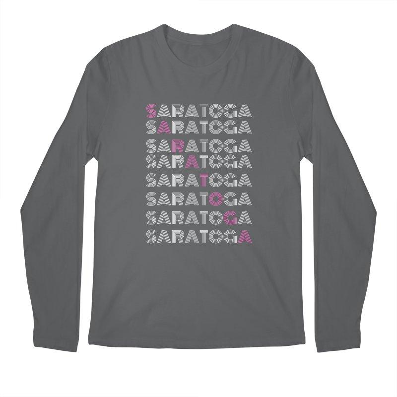 Saratoga Shirt Men's Longsleeve T-Shirt by Townsquare Media Albany's Artist Shop