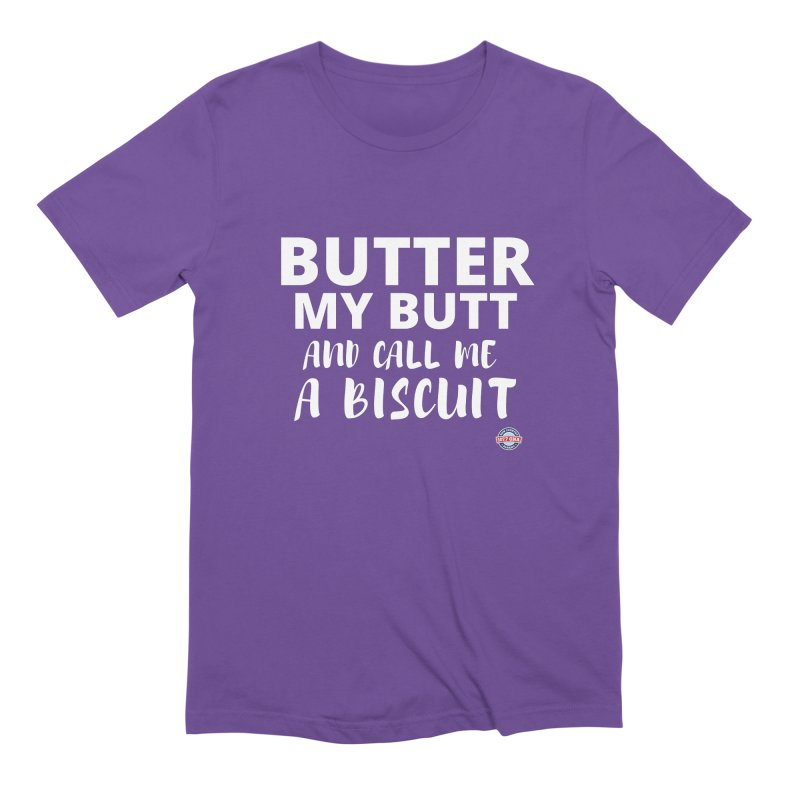 Butter My Biscuit Shirt Men's T-Shirt by Townsquare Media Albany's Artist Shop