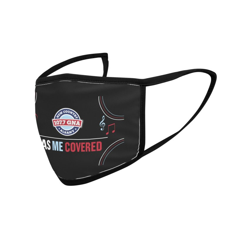Has Me Covered Accessories Face Mask by Townsquare Media Albany's Artist Shop