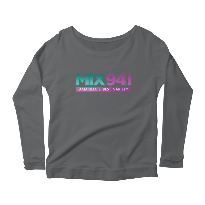 Amarillo Merch Design KMXJFM Women's Longsleeve T-Shirt by townsquareamarillo's Artist Shop