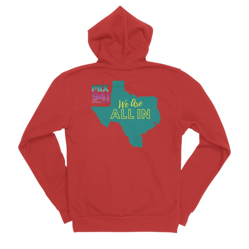 KMXJ All In Women's Zip-Up Hoody by townsquareamarillo's Artist Shop