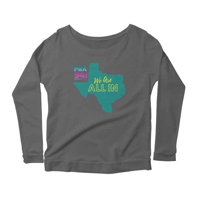 KMXJ All In Women's Longsleeve T-Shirt by townsquareamarillo's Artist Shop