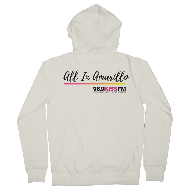 KXSS All In Men's Zip-Up Hoody by townsquareamarillo's Artist Shop