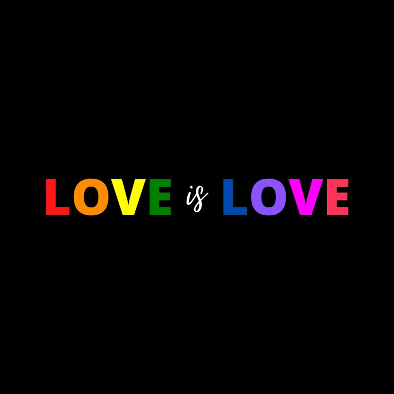 Love is Love Women's V-Neck by townsquareamarillo's Artist Shop