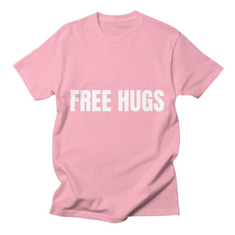 Free Hugs Men's T-Shirt by townsquareamarillo's Artist Shop