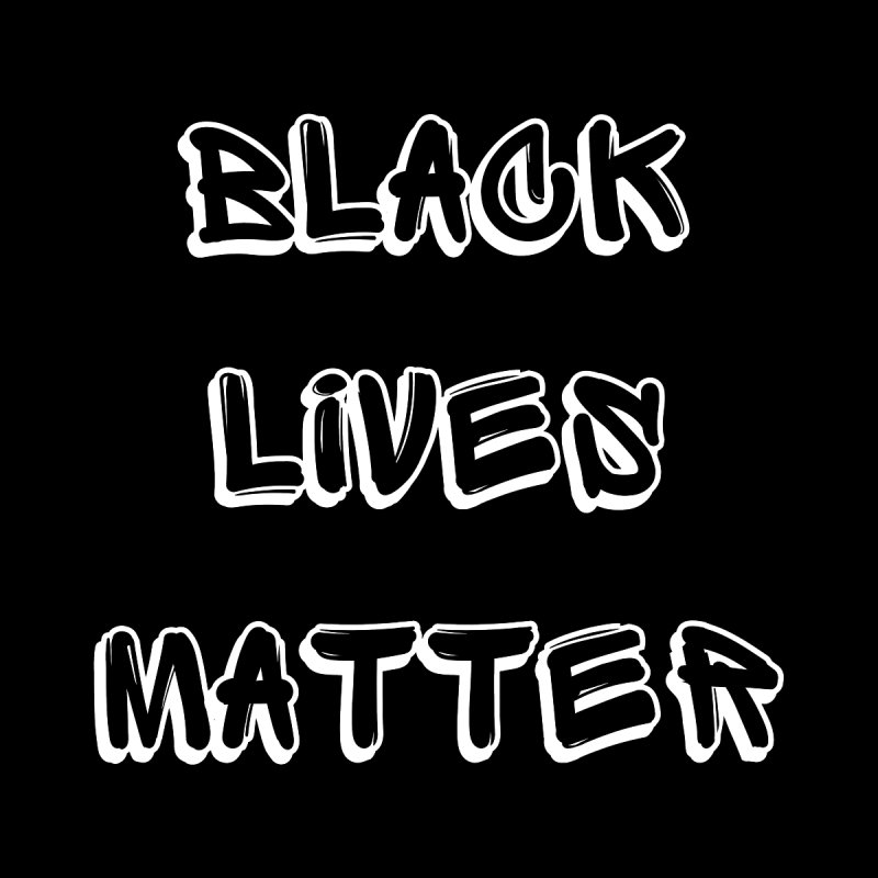 Black Lives Matter Graffiti Shirt Accessories Sticker by townsquareamarillo's Artist Shop