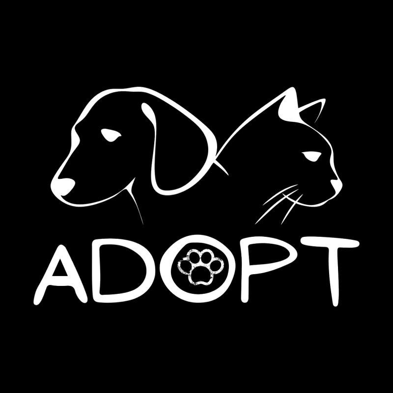 SPCA Adopt Shirt Women's Zip-Up Hoody by townsquareamarillo's Artist Shop