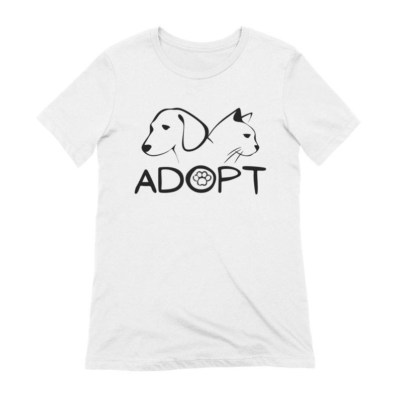 SPCA Adopt Shirt 2 Women's T-Shirt by townsquareamarillo's Artist Shop
