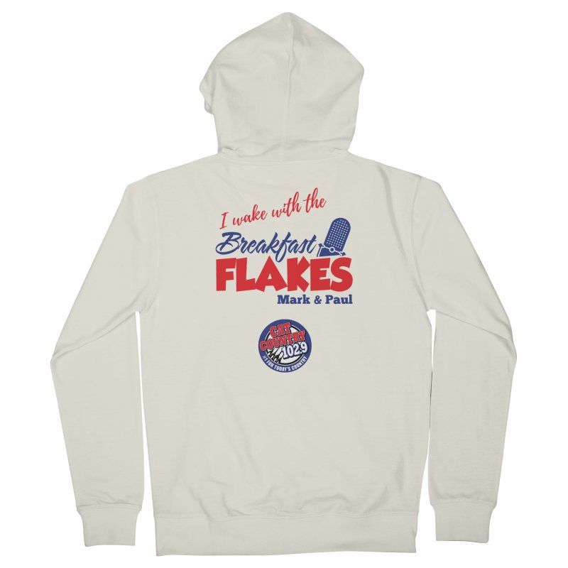 Breakfast Flakes - Cat Country102.9 Women's Zip-Up Hoody by townsquarebillings's Artist Shop