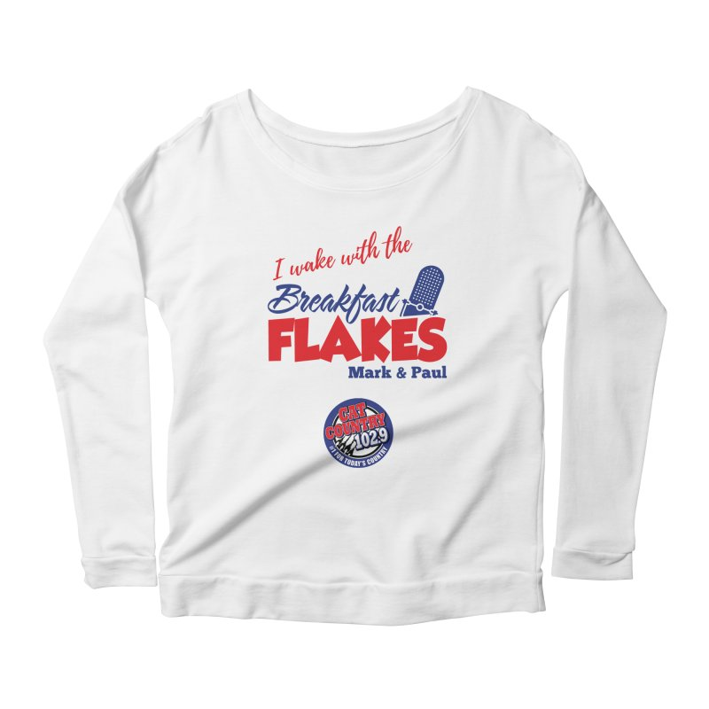 Breakfast Flakes - Cat Country102.9 Women's Longsleeve T-Shirt by townsquarebillings's Artist Shop