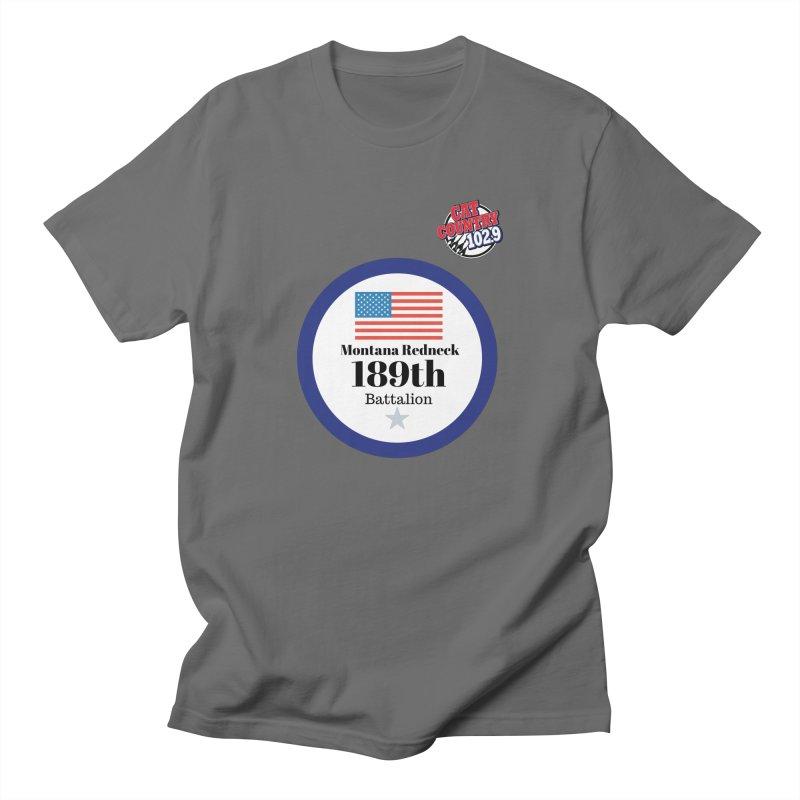 189th Montana Redneck Battalion Men's T-Shirt by townsquarebillings's Artist Shop