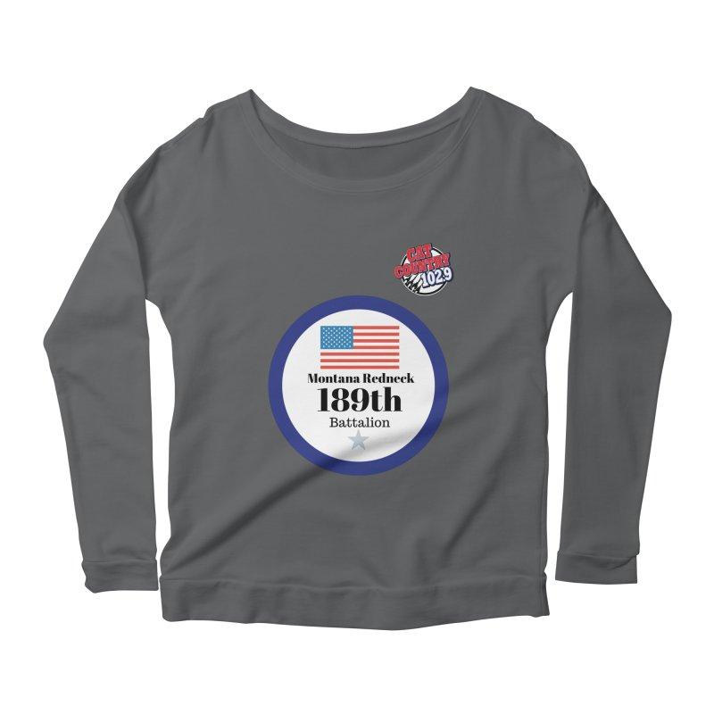189th Montana Redneck Battalion Women's Longsleeve T-Shirt by townsquarebillings's Artist Shop