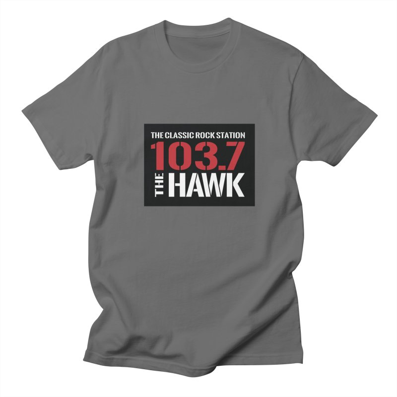 103.7 the Hawk Classic Rock Shirt Women's T-Shirt by townsquarebillings's Artist Shop