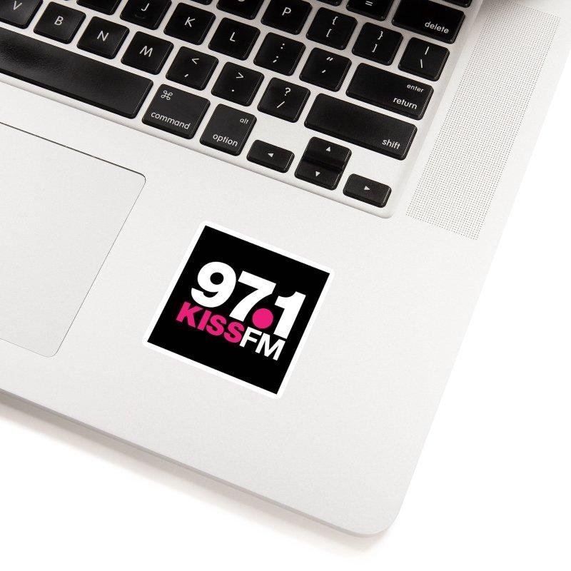 97.1 KISS FM Accessories Sticker by townsquarebillings's Artist Shop