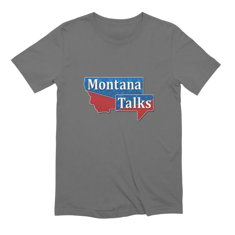 Montana Talks Men's T-Shirt by townsquarebillings's Artist Shop