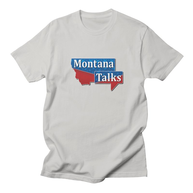 Montana Talks Men's T-Shirt by townsquarebillings's Artist Shop