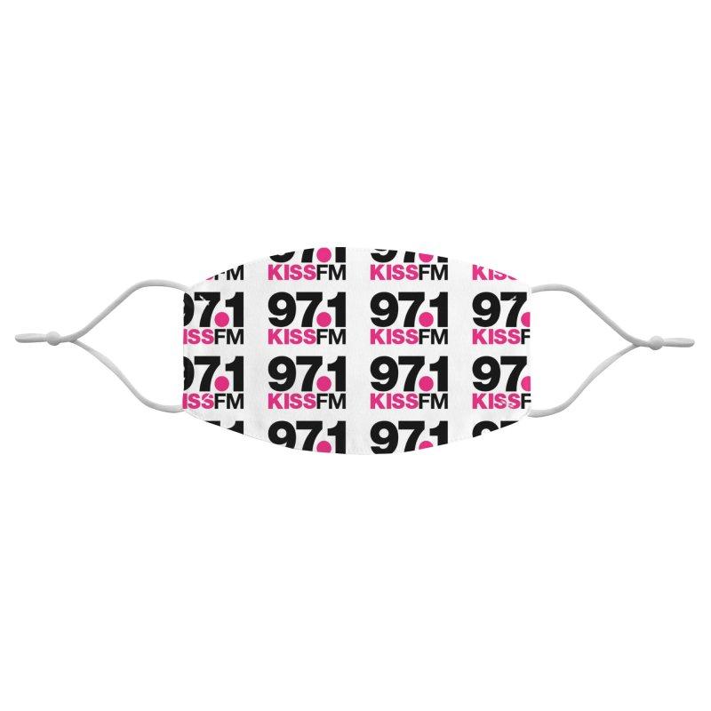 97.1 KISS FM Face Mask Accessories Face Mask by townsquarebillings's Artist Shop