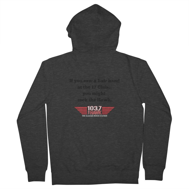 If You Saw A Hair Band Men's Zip-Up Hoody by townsquarebillings's Artist Shop