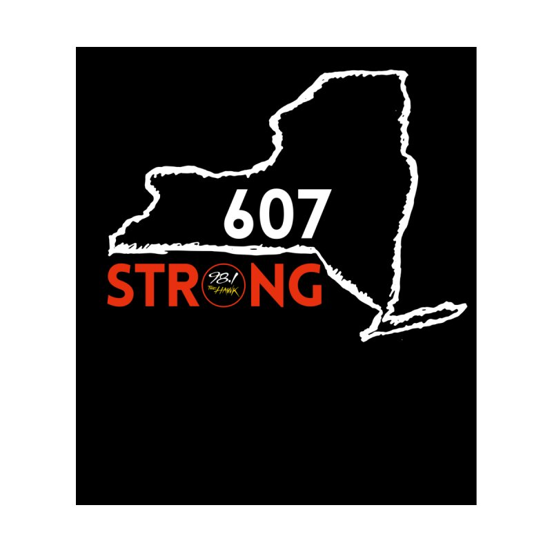 607 Strong Accessories Sticker by townsquarebinghamton's Artist Shop