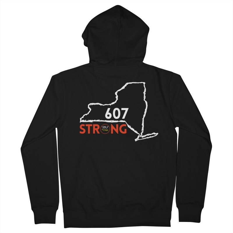 607 Strong Women's Zip-Up Hoody by townsquarebinghamton's Artist Shop