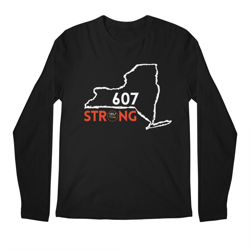 607 Strong Men's Longsleeve T-Shirt by townsquarebinghamton's Artist Shop