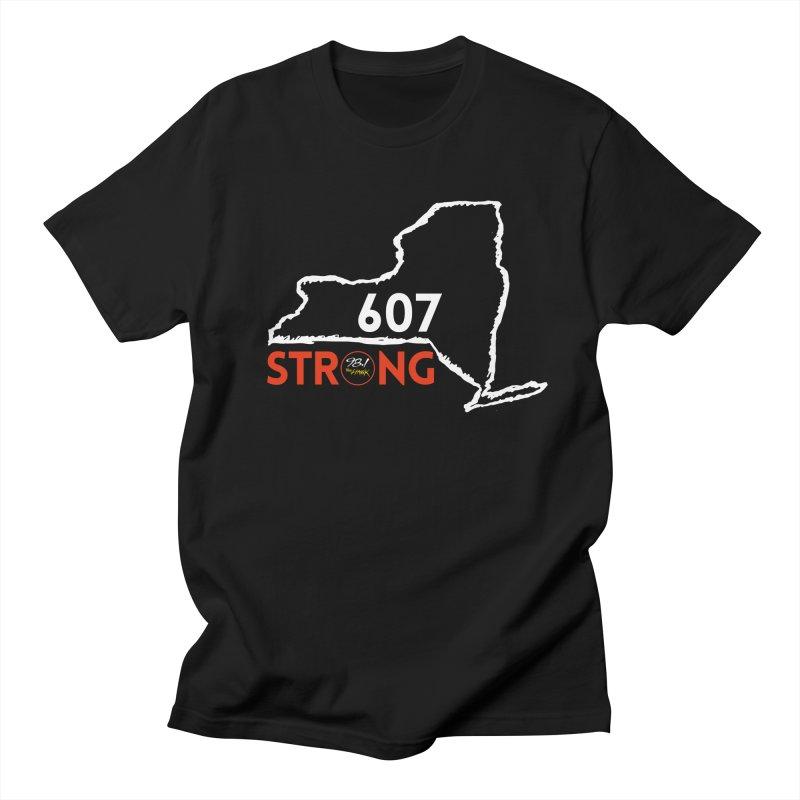 607 Strong Men's T-Shirt by townsquarebinghamton's Artist Shop