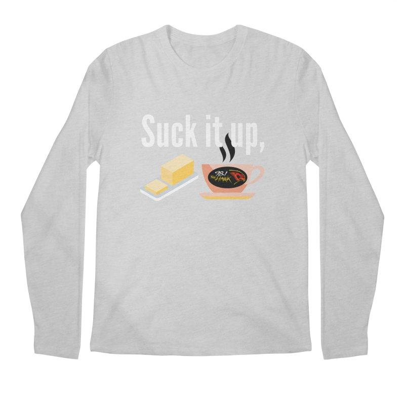 Suck it Up Buttercup Men's Longsleeve T-Shirt by townsquarebinghamton's Artist Shop