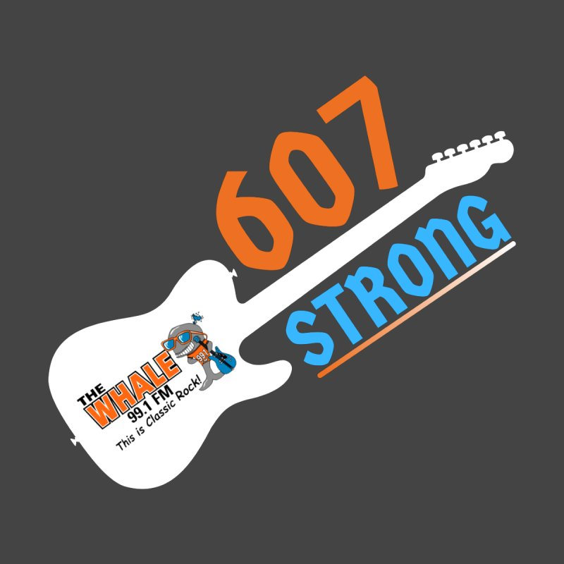 607 Strong - The Whale Accessories Sticker by townsquarebinghamton's Artist Shop
