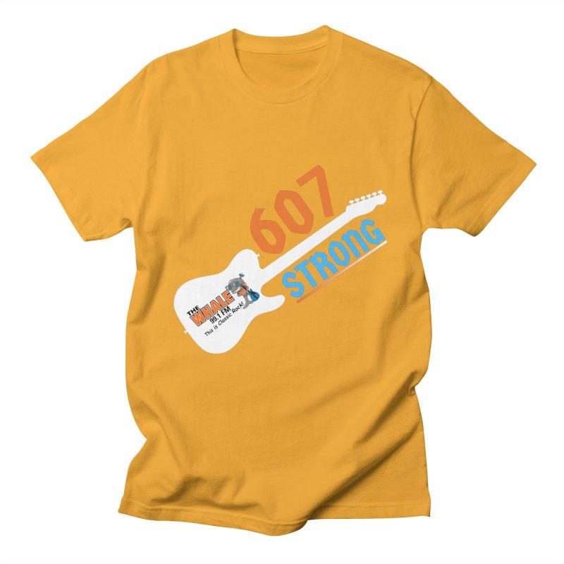 607 Strong - The Whale Men's T-Shirt by townsquarebinghamton's Artist Shop