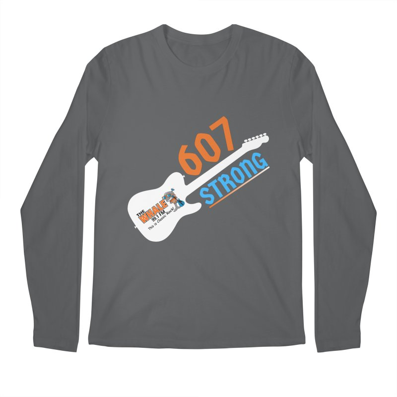 607 Strong - The Whale Men's Longsleeve T-Shirt by townsquarebinghamton's Artist Shop
