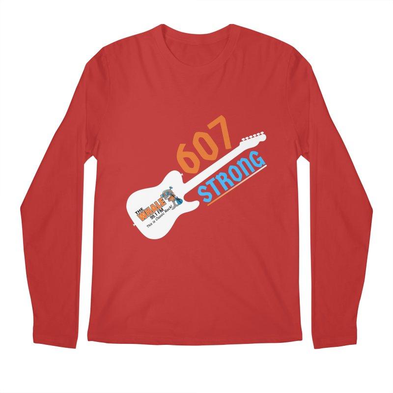 607 Strong - The Whale Men's Longsleeve T-Shirt by townsquarebinghamton's Artist Shop