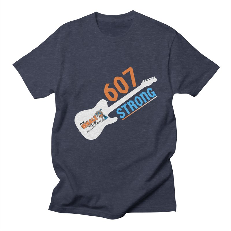 607 Strong - The Whale Men's T-Shirt by townsquarebinghamton's Artist Shop