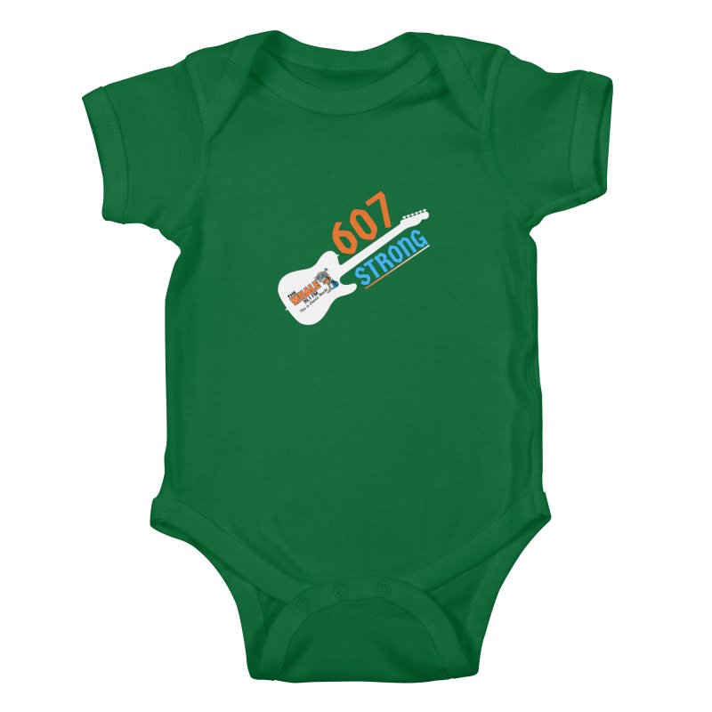607 Strong - The Whale Kids Baby Bodysuit by townsquarebinghamton's Artist Shop