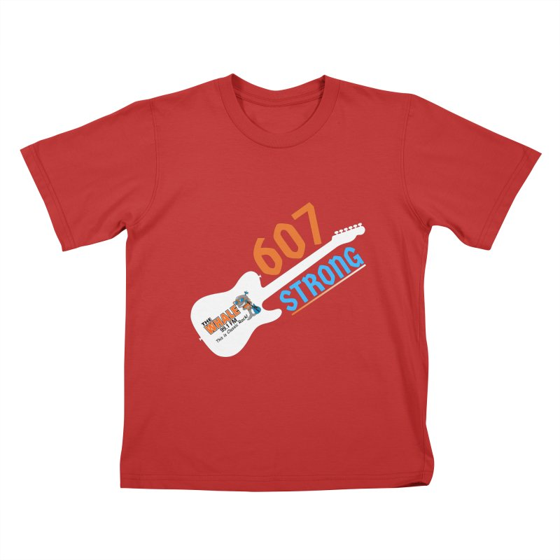 607 Strong - The Whale Kids T-Shirt by townsquarebinghamton's Artist Shop
