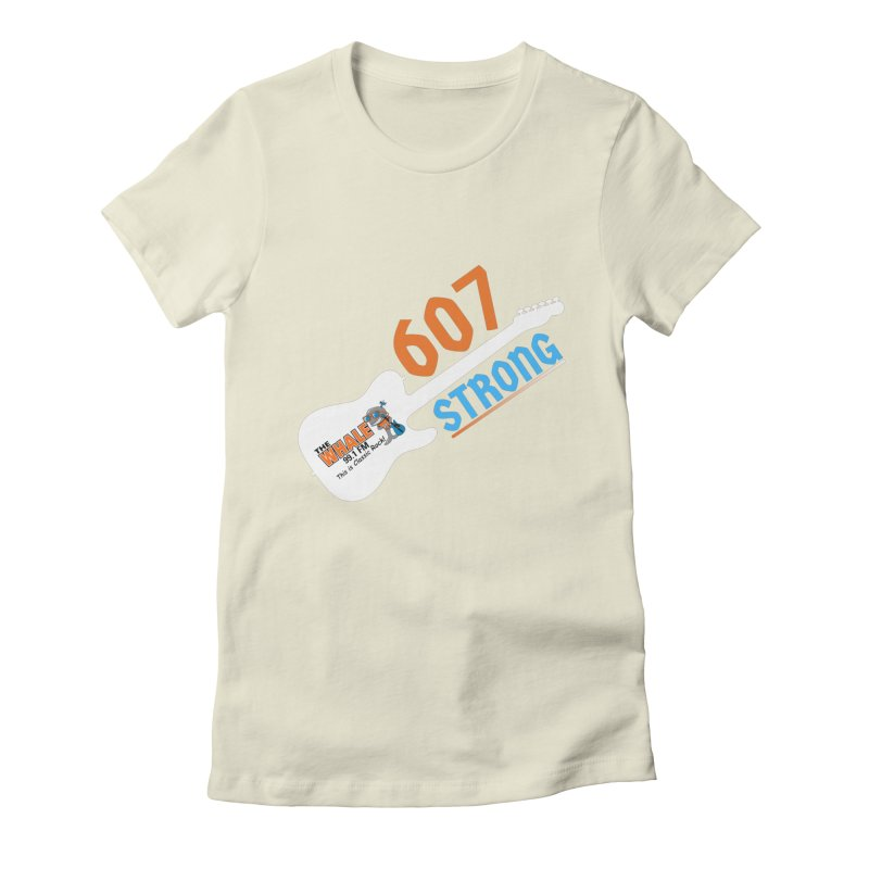 607 Strong - The Whale Women's T-Shirt by townsquarebinghamton's Artist Shop