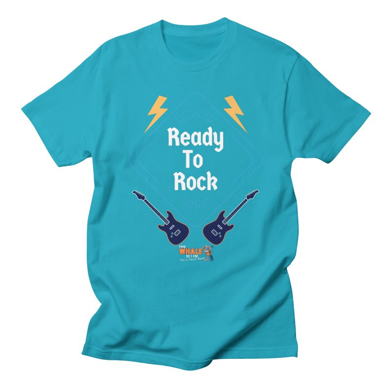 Ready to Rock - The Whale Men's T-Shirt by townsquarebinghamton's Artist Shop