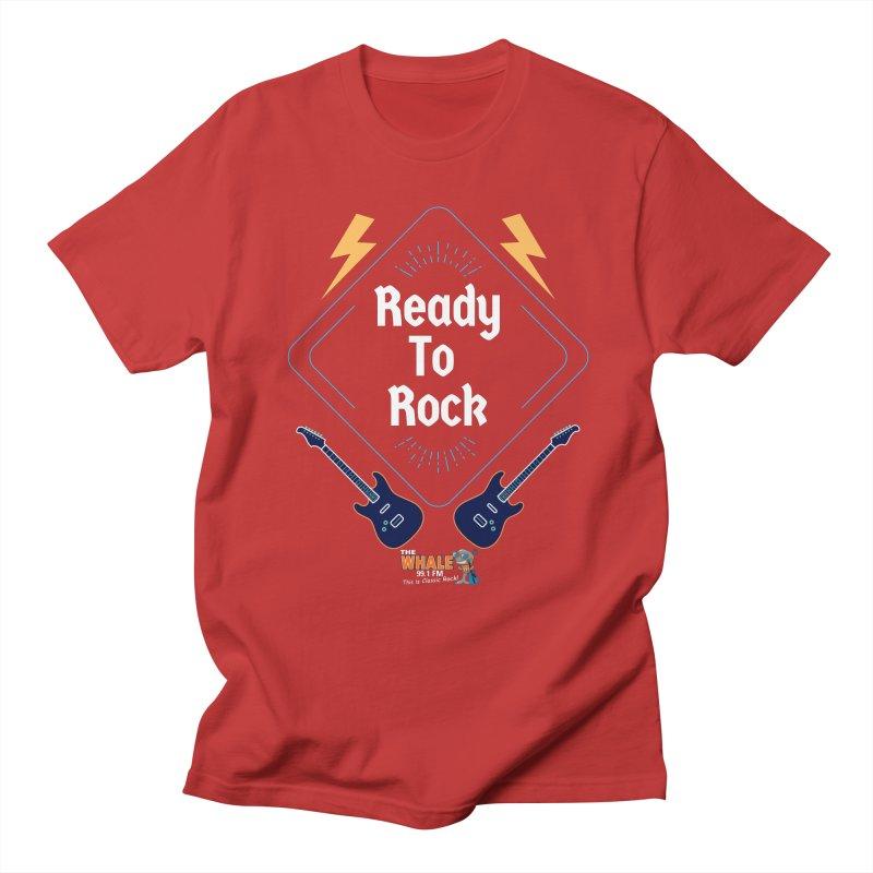 Ready to Rock - The Whale Men's T-Shirt by townsquarebinghamton's Artist Shop