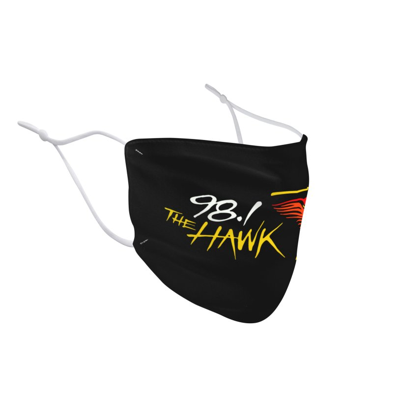 98.1 The Hawk Face Mask Accessories Face Mask by townsquarebinghamton's Artist Shop