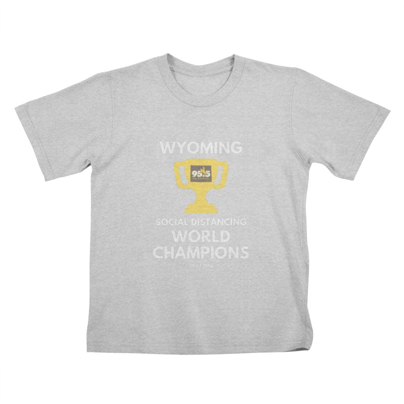 95.5 My Country Social Distancing Shirt Kids T-Shirt by Townsquare Media Casper's Shop