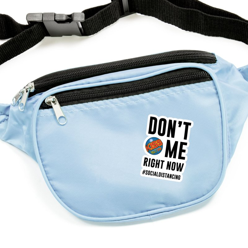 Don't Kiss 104.7 Me Social Distancing Shirt Accessories Sticker by Townsquare Media Casper's Shop