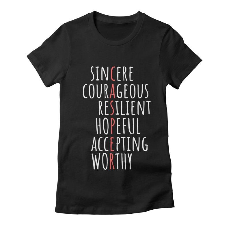 Casper Word Chart Shirt Women's T-Shirt by Townsquare Media Casper's Shop
