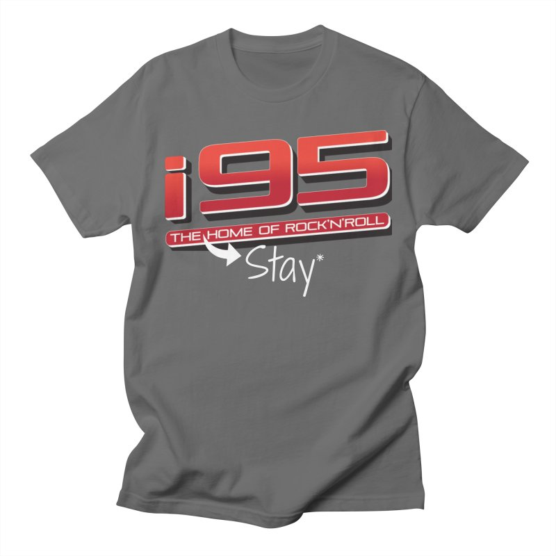 i95 Stay at Home Men's T-Shirt by Townsquare Media Danbury's Artist Shop