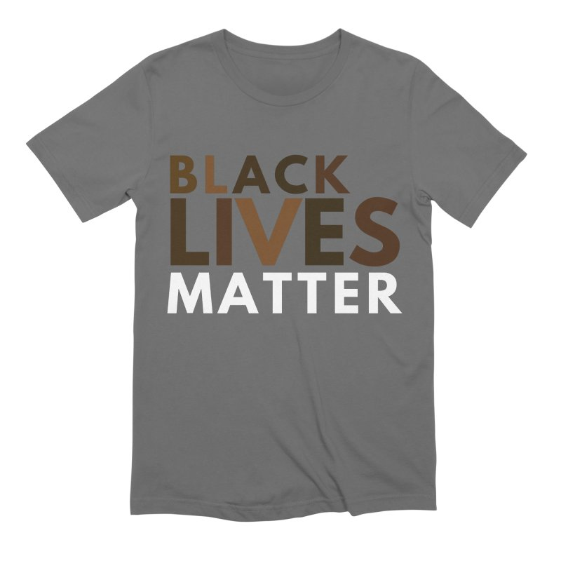 Black Lives Matter Shirt Men's T-Shirt by Townsquare Media El Paso's Shop